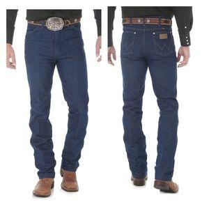 Wrangler Men's Blue Jeans Cowboy Cut 936Den 34x34